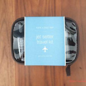 極上の髪ケアができるジョンマスターの「JET SETTER Travel Kit」は試しに使うのに最高に良い!