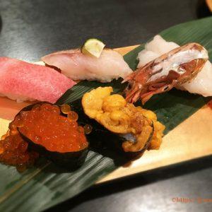 上野パルコにできる金沢まいもん寿司!人気の定番「5貫盛り」は良質な魚介が5種類のったお得な盛り合わせ