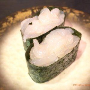 上野パルコにオープンの金沢まいもん寿司「富山白えび」はプリップリ!一口噛めば濃厚な旨みが広がる看板メニュー
