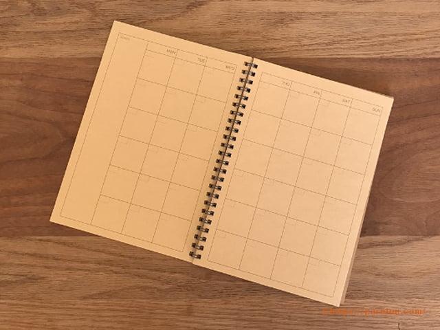 無印良品 再生紙 クラフトデスクノート