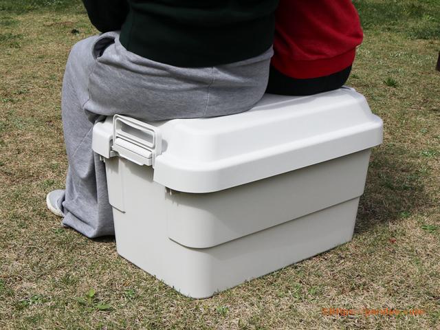 無印良品 ポリプロピレン頑丈収納ボックス